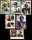 Walter Payton - 1978-1987 Topps Lot of (6) different (Bears)