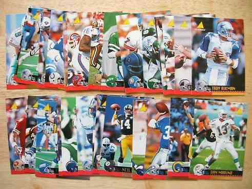 1995 Dial Soap - Complete SET - Factory Wrapped (30 cards,by Pinnacle) Football cards value