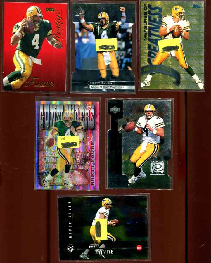 1998 Topps 'Measures of Greatness' #MG15 Brett Favre Baseball cards value