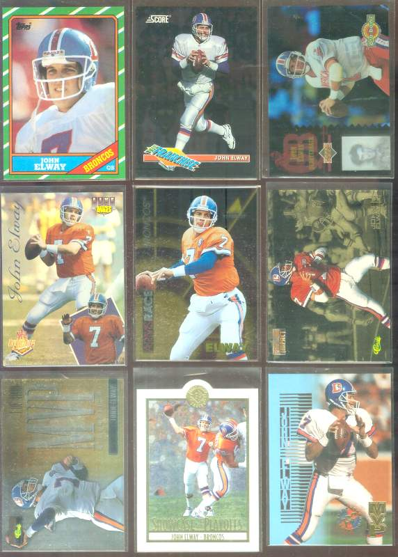 1993 Score Franchise #7 John Elway Football cards value