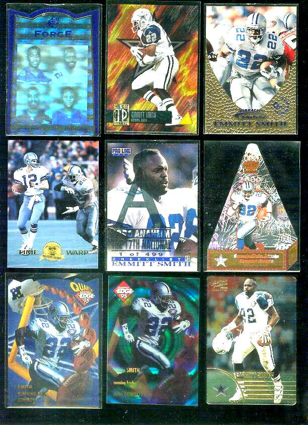 2000 Pacific 'Cramer's Choice' #2 Emmitt Smith Football cards value