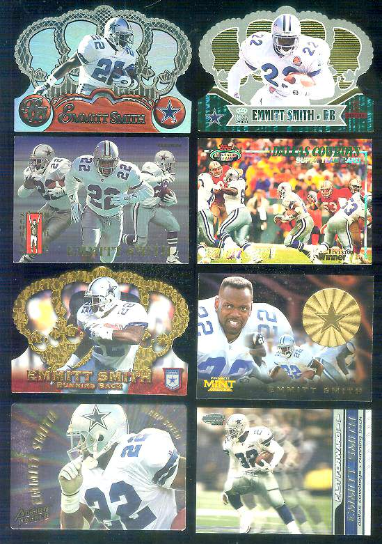 2000 Crown Royale Limited Series #28 Emmitt Smith Baseball cards value