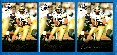 Drew Brees - 2001 Press Pass #2 ROOKIE - SET (3) GOLD,BLUE & SILVER