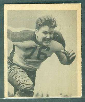 1948 Bowman FB #.79 Frank 'Bucko' Kilroy ROOKIE (Eagles) Football cards value