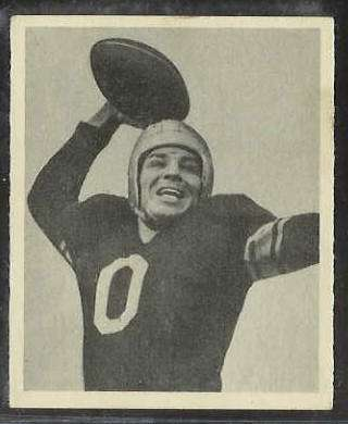1948 Bowman FB #.86 John 'Johnny Zero' Clement (Steelers) Football cards value
