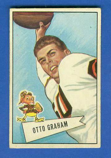 1952 Bowman Small FB #..2 Otto Graham (Browns) Football cards value