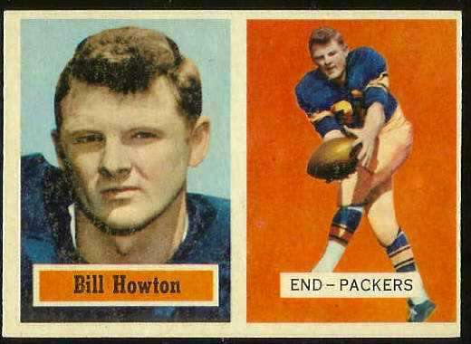 1957 Topps FB #.33 Billy Howton (Packers) Football cards value
