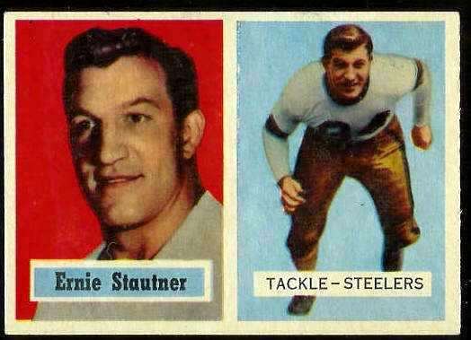 1957 Topps FB #.92 Ernie Stautner (Steelers) Football cards value