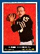 1961 Topps FB #186 Tom Flores ROOKIE (Raiders)