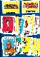 1964 Topps FB  - Starter Set/Lot (67) different with STARS & SHORT PRINTS