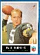 1965 Philadelphia FB # 76 Paul Hornung [#e] (Packers)