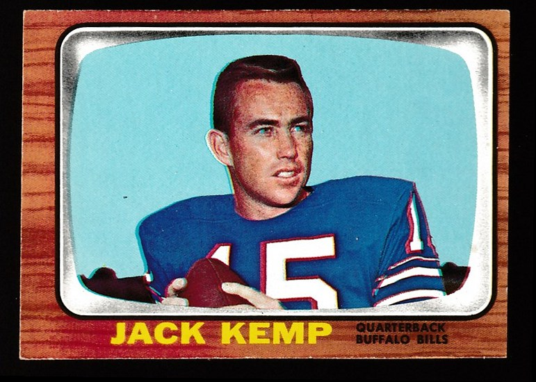 1966 Topps FB #.26 Jack Kemp (Bills) Football cards value