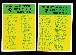 1966 Philadelphia FB #197+198 Lot of BOTH CHECKLISTS
