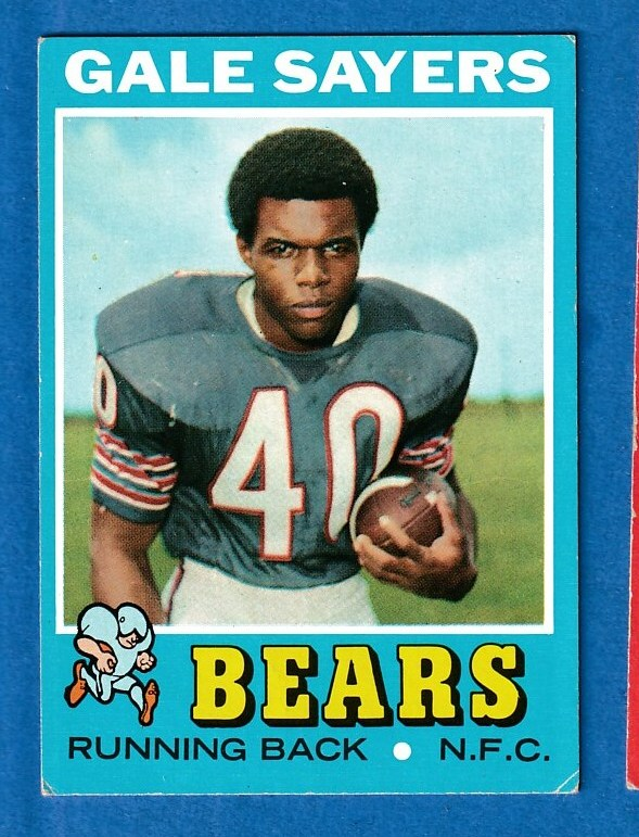 1971 Topps FB #150 Gale Sayers (Bears) Football cards value