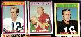 1972 Topps  Football - Starter Set/Lot (180) w/Staubach RC (fair)+STARS !!!