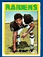 1972 Topps FB #186 Gene Upshaw ROOKIE (Raiders)