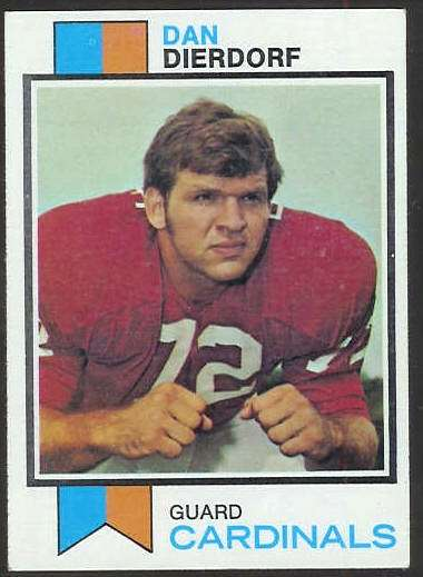 1973 Topps FB #322 Dan Dierdorf ROOKIE [#c] Football cards value