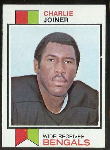 1973 Topps FB #467 Charlie Joiner (Bengals) Football cards value