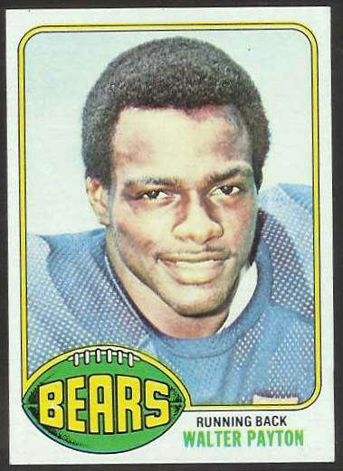 1976 Topps FB #148 Walter Payton ROOKIE Football cards value