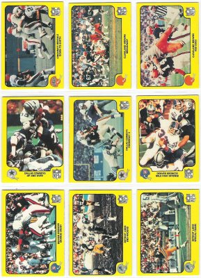 1978 Fleer Team Action FB #14 Dallas Cowboys Football cards value