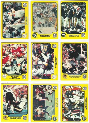 1978 Fleer Team Action FB #36 New York Giants Football cards value