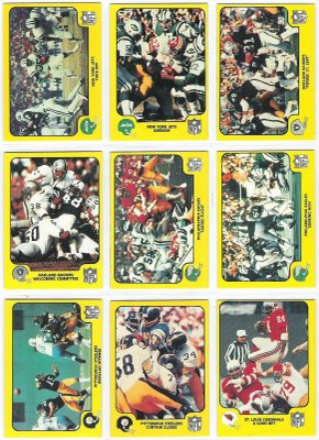 1978 Fleer Team Action FB #39 Oakland Raiders Football cards value