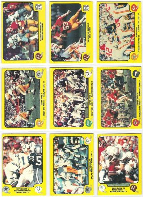 1978 Fleer Team Action FB #55 Washington Redskins Football cards value