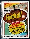 1985 Topps Football - Cello Pack Eric Dickerson on Top (28 cards)