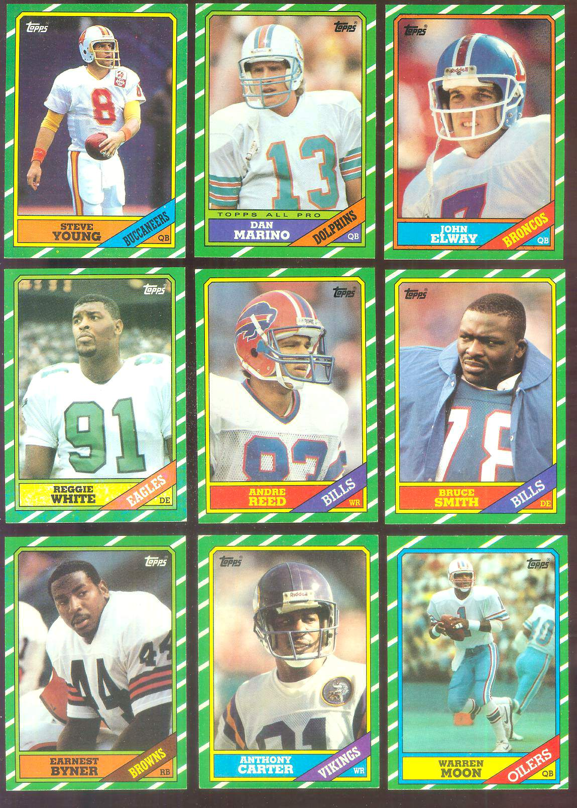 1986 Topps FB #275 Reggie White (Eagles) Football cards value
