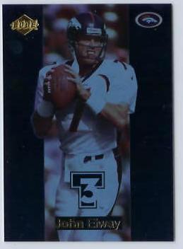 John Elway - 1998 Edge Triple Threat #6 (Broncos) Football cards value