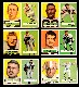 1957 Topps FB  - Cleveland BROWNS Team Lot (6)