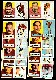 1957 Topps FB  - Chicago CARDINALS Near Team Set/Lot (12/13)