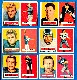 1957 Topps FB  - Detroit LIONS Team Lot of (6)