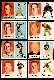 1957 Topps FB  - Pittsburgh STEELERS Near Team Set/Lot (8/12)