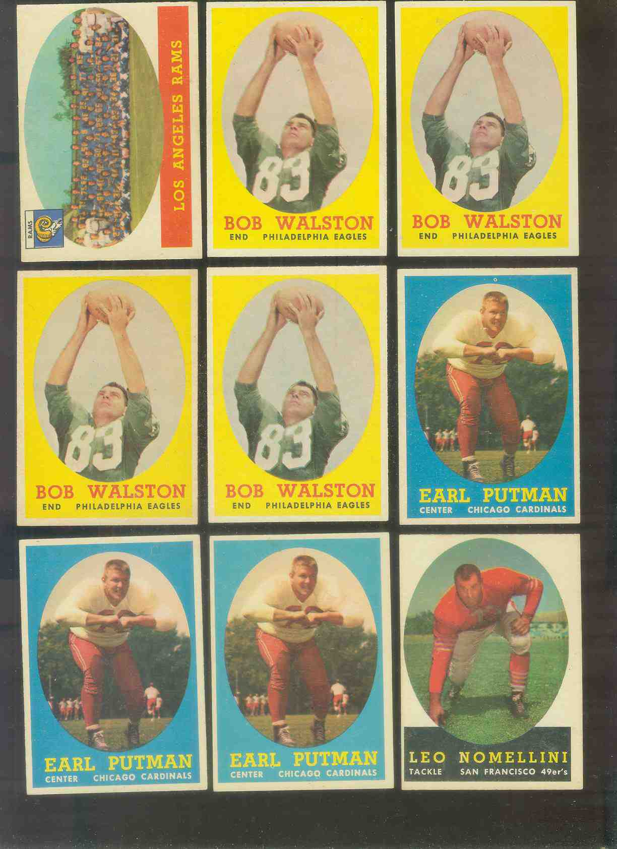 1958 Topps FB #.89 Leo Nomellini (49ers Hall-of-Famer) Football cards value