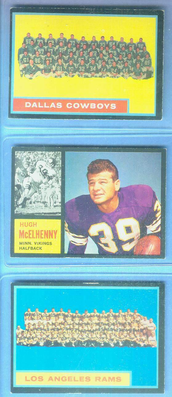 1962 Topps FB #.89 Los Angeles Rams TEAM CARD [#x] SHORT PRINT Football cards value