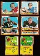 1966 Topps FB  -  Lot of (45) Different w/Lamonica and both rare checklists