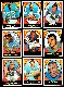 1967 Topps FB  - SAN DIEGO CHARGERS COMPLETE Team Set/Lot (15) cards