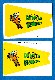 1967 Topps FB Comic Pennants  -  Lot of (3)