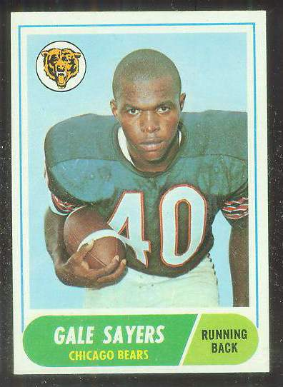 1968 Topps FB #.75 Gale Sayers (Bears) Football cards value
