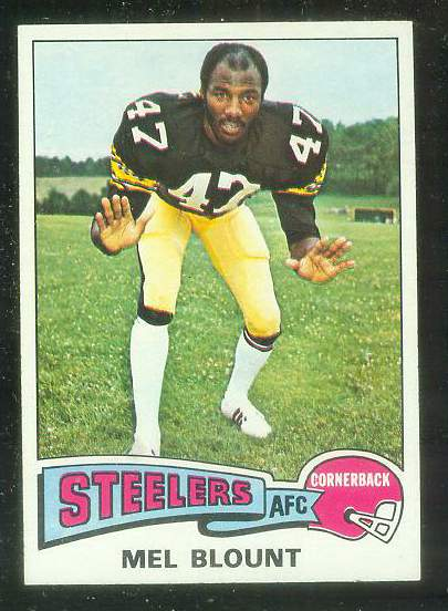 1975 Topps FB #.12 Mel Blount ROOKIE [#a] Football cards value