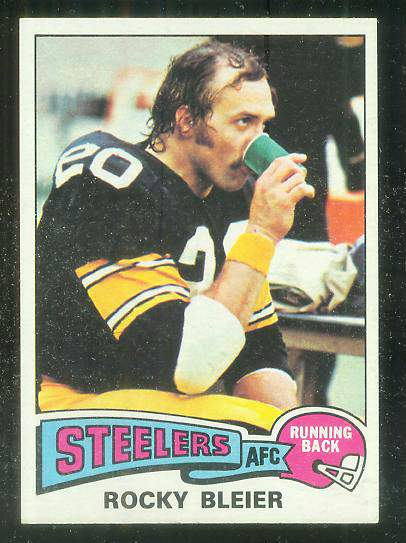 1975 Topps FB #.39 Rocky Bleier ROOKIE [#a] Football cards value
