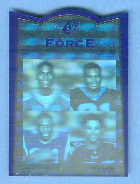 1996 SP SPx Force #FR1 Keyshawn Johnson/Terry Glenn Football cards value