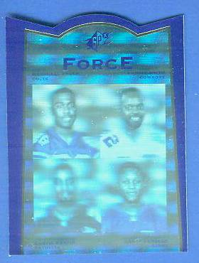 1996 SP SPx Force #FR4 Jerry Rice/Isaac Bruce/Herman Moore/Carl Pickens Football cards value