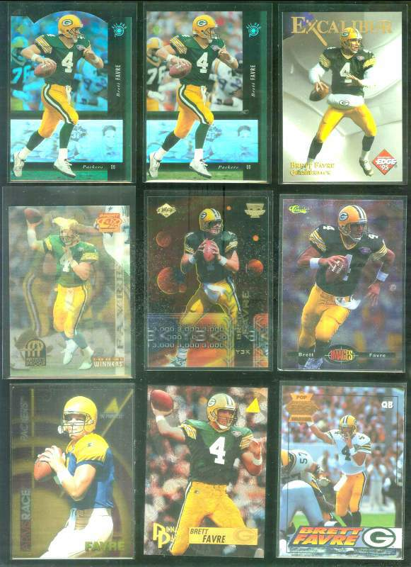 1995 Sportflix #157 Brett Favre ARTIST'S PROOF Football cards value