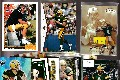 Brett Favre - Lot of (13) different with 1991 UD ROOKIE & more