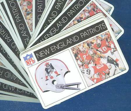 1976 Popsicle - New England PATRIOTS WHOLESALE Lot of (100) Football cards value