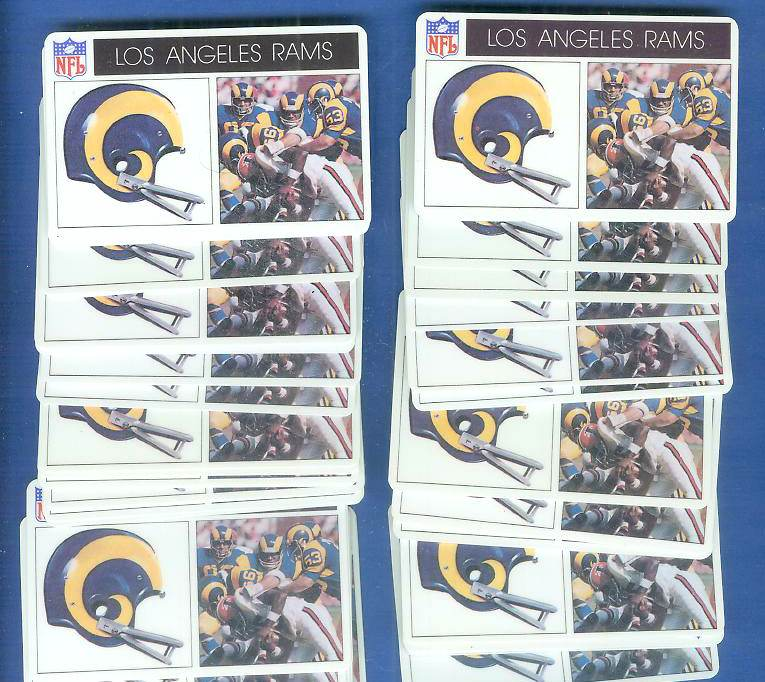 1976 Popsicle - Los Angeles RAMS WHOLESALE Lot of (100) Football cards value