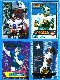 Troy Aikman - 1994-1998  Lot of (4) Acrylic See-Thru INSERT cards