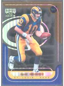 Kurt Warner - 1999 Playoff Momentum SSD #144 ROOKIE Football cards value